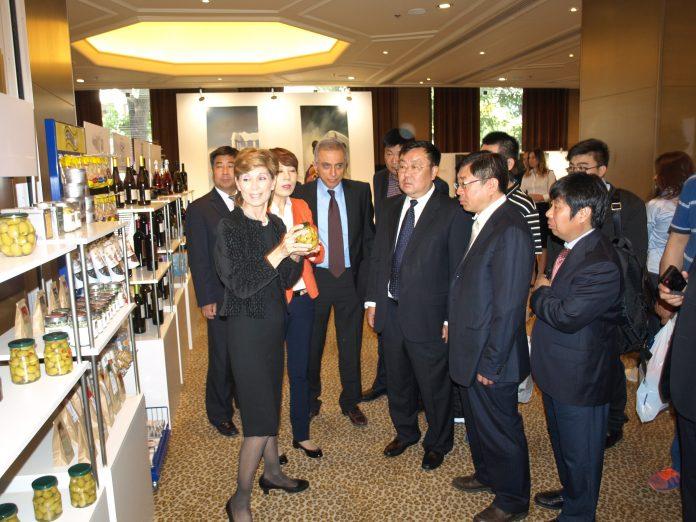 Ελληνικά προϊόντα στο World Commerce Valley της Κίνας