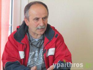 Βασίλης Λαζαρίδης, κτηνοτρόφος