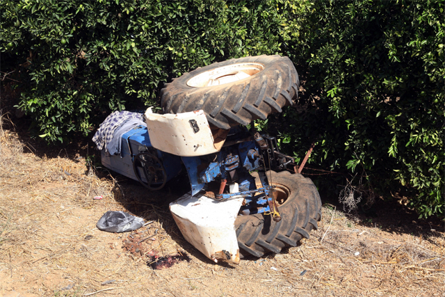 Ζάκυνθος: Aγρότης έχασε την ζωή του από ανατοπή τρακτέρ