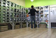 Αυτόματοι πωλητές βιολογικών σε Γαλλία και Σκωτία