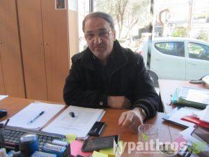 Παντελής Μπερμπέρης, πρόεδρος του ΑΦΟΣ ΑΛΜΩΠΙΑΣ