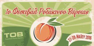Έρχεται το πρώτο Φεστιβάλ Ροδάκινου στην Βέροια