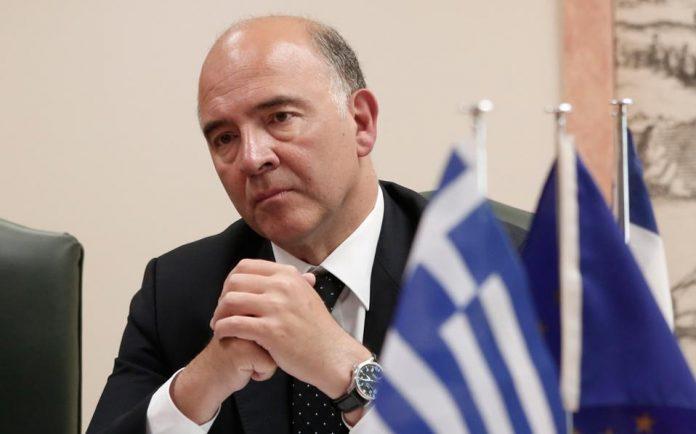 Πιερ Μοσκοβισί: Βγαίνει η Ελλάδα από την κρίση, διανύουμε την τελική ευθεία