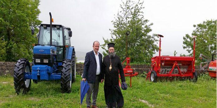 Πρόγραμμα αγροτικής ανάπτυξης «τρέχει» η Μητρόπολη Ιωαννίνων
