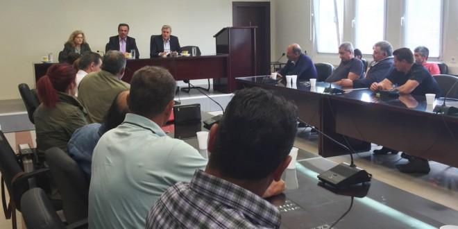Σύσκεψη για τις προοπτικές ανάπτυξης της κτηνοτροφίας στην Πέλλα