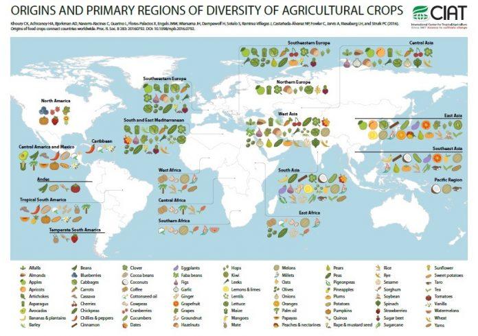 Το 69% των ευρωπαϊκών καλλιεργειών αποτελείται από ξένα είδη