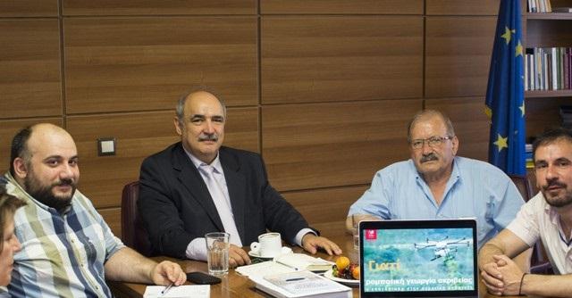 Συνάντηση για την προώθηση της Γεωργίας Ακριβείας στην Ελλάδα
