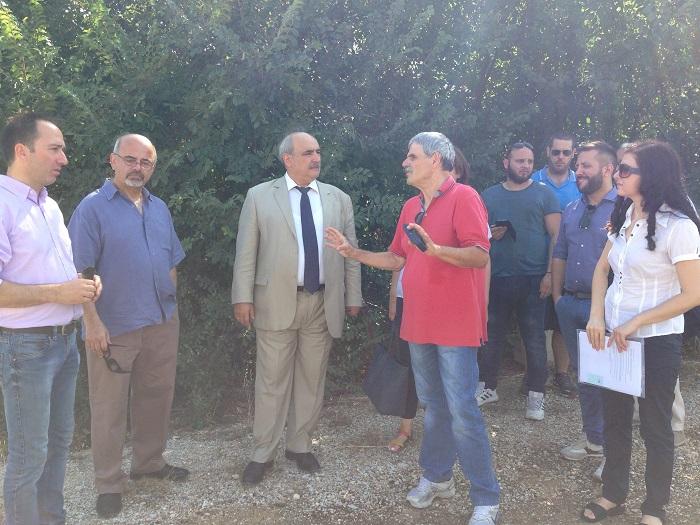 Επίσκεψη του Μάρκου Μπόλαρη στη Μαγνησία