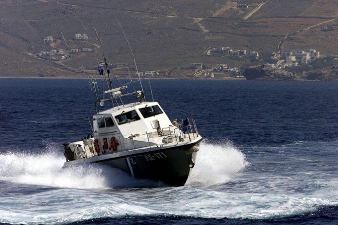 Επιχείρηση διάσωσης προσφύγων νότια της Κρήτης