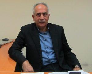 Ο γενικός διευθυντής της ΕΥΡΟΦΑΡΜ Α.Ε., Βασίλης Χαλκίδης