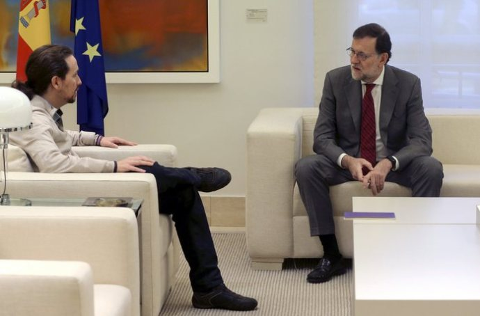 Ισπανία exit poll: Μπροστά ο Ραχόι, δεύτερη δύναμη οι Podemos