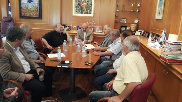 Συνάντηση Δημάρχου Αλεξανδρούπολης με τον Υφυπουργό Εσωτερικών