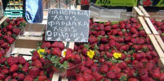Τελειώνει σιγά - σιγά η φράουλα