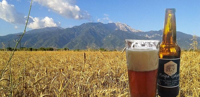 Στην Πιερία η μπύρα έχει «Άρωμα Ολύμπου» και είναι φτιαγμένη από χέρια μαθητών