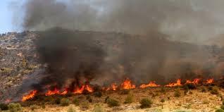 Υπό έλεγχο πυρκαγιά σε αγροτική περιοχή στο Ηράκλειο