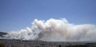 Σε εξέλιξη πυρκαγιά στις Ερυθρές Αττικής