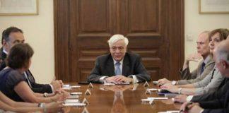 Την ανάγκη διορθώσεων στο ελληνικό πρόγραμμα, τόνισε ο Πρόεδρος της Δημοκρατίας Πρ. Παυλόπουλος