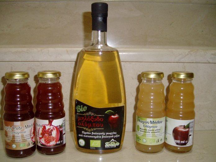 Το πρώτο ελληνικό βιολογικό μηλόξυδο made in... Όλυμπος