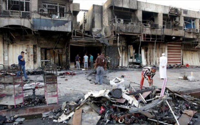 Αιματηρή τρομοκρατική επίθεση του ISIS στη Βαγδάτη