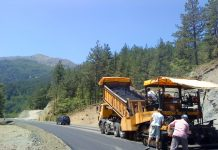 Έργα αγροτικής οδοποιίας στην Περιφερειακή Ενότητα Πιερίας