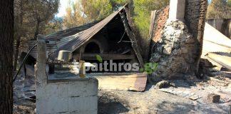 Οδοιπορικό του ypaithros.gr στα καμένα της Βόρειας Εύβοιας