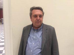 Χρήστος Μπαρλιάς, πρόεδρος της ΑΕΣ Κορινθίας