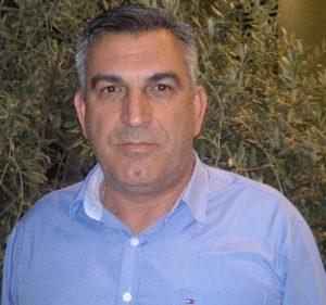 Διονύσιος Φόλιος, πρόεδρος του Αγροτικού Συνεταιρισμού Καρδίτσας Πιερίας