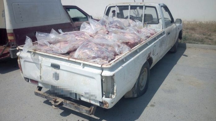 Τρεις συλλήψεις στον Έβρο για παράνομη διακίνηση 1.200 κιλών κρέατος