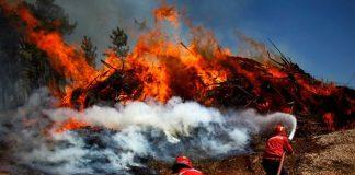 Μεγάλες πυρκαγιές κατακαίουν το βόρειο τμήμα τηςΠορτογαλίας