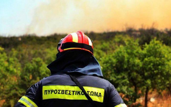 Κρήτη: Σε εξέλιξη πυρκαγιά στο δήμο Αρχανών – Αστερουσίων