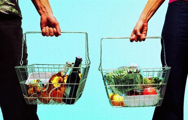 Κατά 5% αυξήθηκε σε αξία ο κλάδος τροφίμων και ποτών