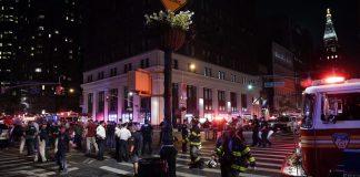 Explosion in Manhattan