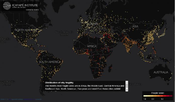 Έρευνα για τις πόλεις του πλανήτη που κινδυνεύουν να