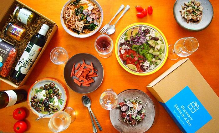 Οι ελληνικές γεύσεις μπαίνουν σε... κουτί και ταξιδεύουν σε Ελλάδα και εξωτερικό