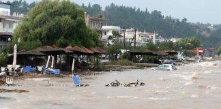Σε κατάσταση έκτακτης ανάγκης οι πληγείσες από τα πλημμύρες περιοχές