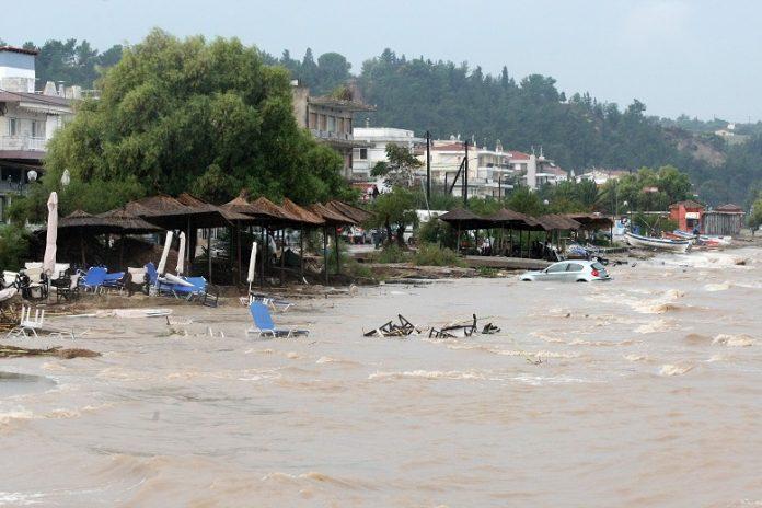 Κονδύλι 15 εκατ. ευρώ για τις καταστροφές από τη θεομηνία στο δήμο Θερμαϊκού
