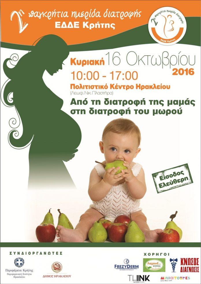 Από την διατροφή της μαμάς στη διατροφή του μωρού