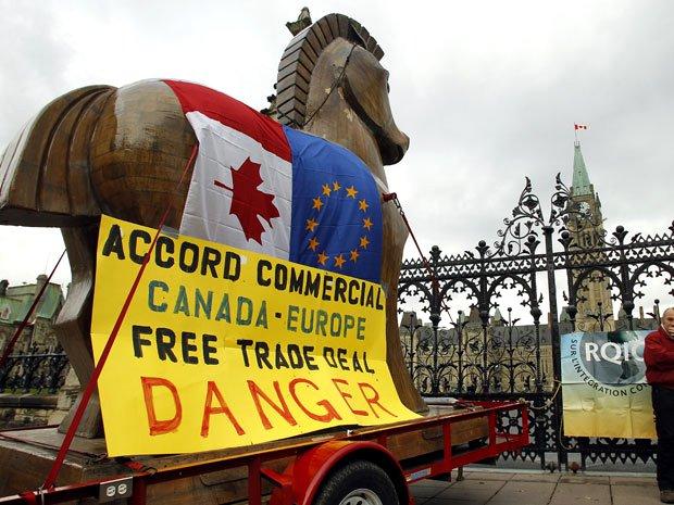 Μπλόκο από το κοινοβούλιο της Βαλονίας στη CETA