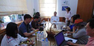 Δέκα κορυφαίοι δημοσιογράφοι από την Κορέα διαφημίζουν την Κρήτη