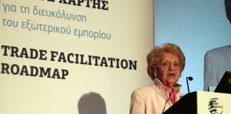 Χριστίνα Σακελλαρίδη πρόεδρος Πανελλήνιου Συνδέσμου Εξαγωγέων