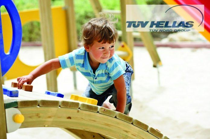 Πιστοποιούνται οι Παιδικές Χαρές στο Ηράκλειο Κρήτης από την TÜV HELLAS (TÜV NORD)