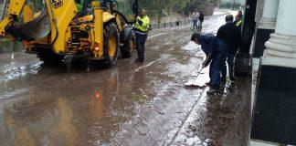 Χιόνια στην Β. Ελλάδα – Ανυπολόγιστες ζημιές στη Λέσβο από την κακοκαιρία
