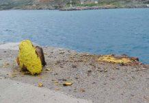 Στο λιμάνι της Κάσου προσέκρουσε πλοίο λόγω κακών καιρικών συνθηκών
