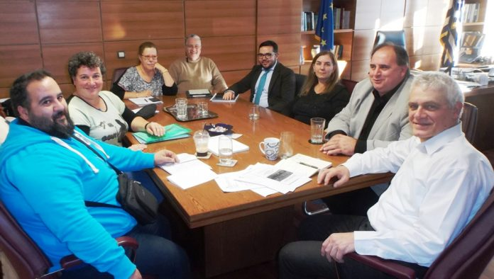 Συνάντηση Κτηνοτροφικού Συλλόγου Αττικής με Γ. Τσιρώνη