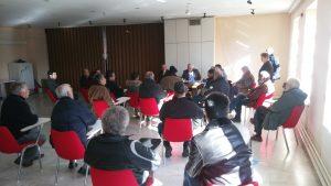 Ο Β. Αποστόλου στην Τρίπολη – Σε εξέλιξη συνάντηση με συνεταιριστές και φορείς