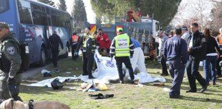 Φορτηγό έπεσε σε πεζούς στην Ιερουσαλήμ, 4 νεκροί και 15 τραυματίες (upd)