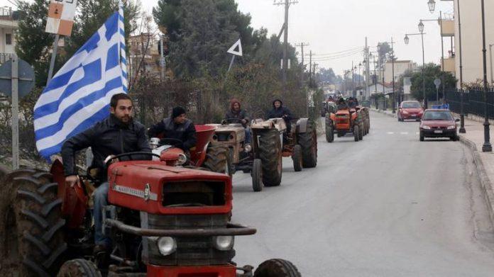 Άρτα: Κλειστός ο κόμβος της Ιονίας οδού, στη θέση Αγ. Δημήτριος, από αγρότες και κτηνοτρόφους