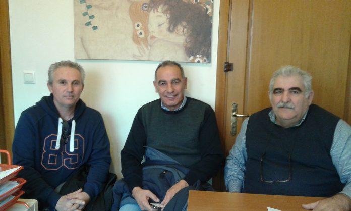 Λάρισα: Συνάντηση του Σωματείου παραγωγών λαϊκών αγορών με τον βουλευτή Ν. Παπαδόπουλο