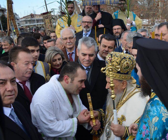 Λάρισα: Με λαμπρότητα γιορτάστηκαν τα Θεοφάνεια παρουσία του υφυπουργού Αγροτικής Ανάπτυξης Βασ. Κόκκαλη