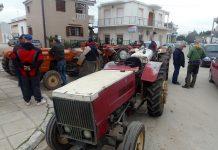 Σουφλί: Συμβολική κατάληψη από αγρότες στο Δασαρχείο